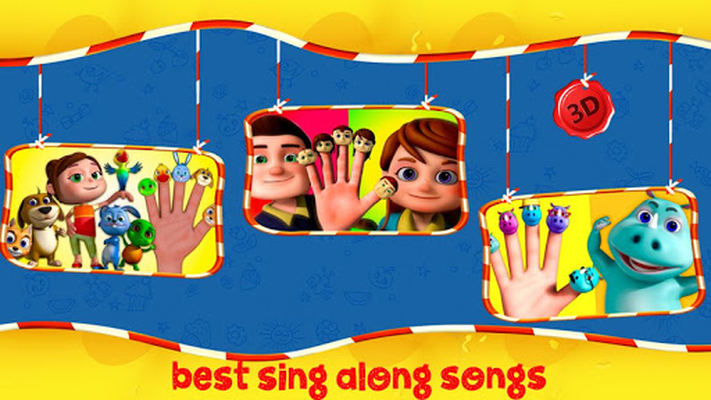 Image 10 of Finger Family Nursery Rhymes and Songs