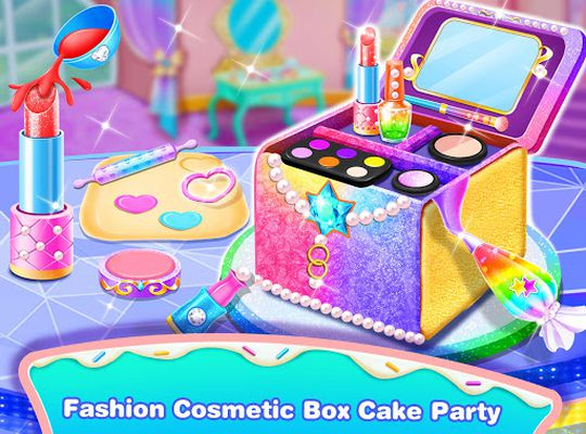 Image 3 of Girl Makeup Kit Comfy Cakes – Pretty Box Bakery Game