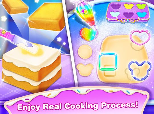 Image 2 of Girl Makeup Kit Comfy Cakes – Pretty Box Bakery Game