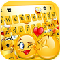 Tema Keyboard Love Emoji Party