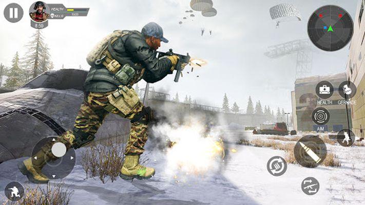 Screenshot 4 of Modern Flag Capture Cash Shooting Game