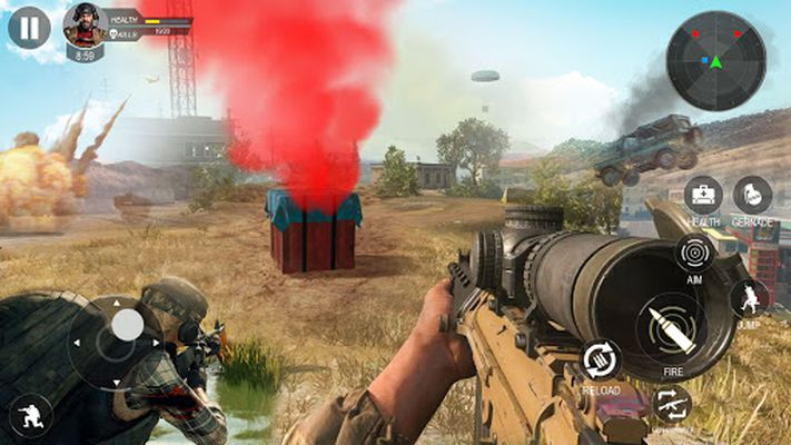 Screenshot 2 of Modern Flag Capture Cash Shooting Game