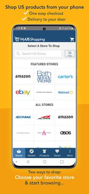 Image 1 of MyUS Shopping: Get What You Love About America