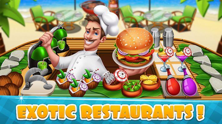 Image 1 of Cooking games Food and restaurants craze fever
