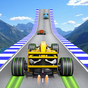 Fórmula carro acrobacias corrida: rampa carro