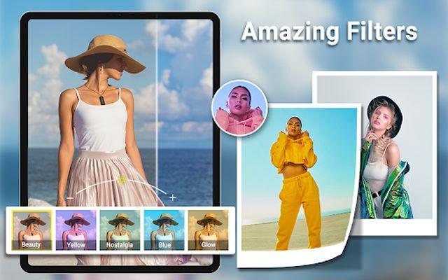 HD Camera image 5: video, panorama, filters, photo editor