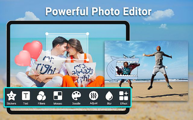 HD Camera image 4: video, panorama, filters, photo editor