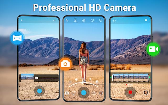 HD Camera image 17: video, panorama, filters, photo editor