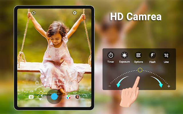 HD Camera image 19: video, panorama, filters, photo editor