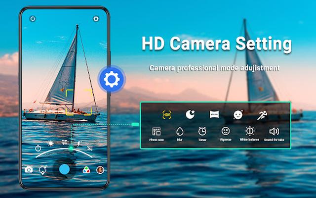 HD Camera image 10: video, panorama, filters, photo editor