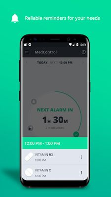 MedControl Image 2 - Medication Reminder