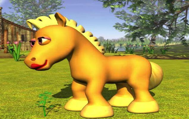 Image 1 of Music for children Green Horse