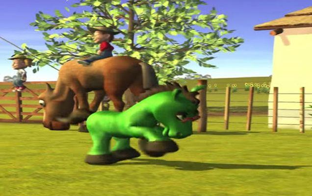 Image of Music for children Green Horse
