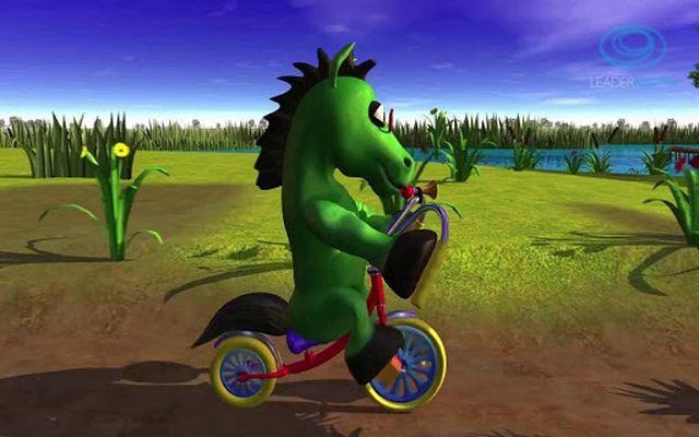 Image 8 of Music for children Green Horse
