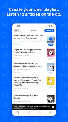 Image 1 of Playpost: Listen to articles