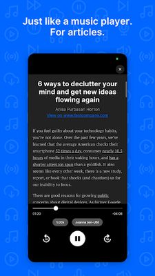 Image from Playpost: Listen to articles