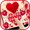 Thème de clavier Red Valentine Hearts