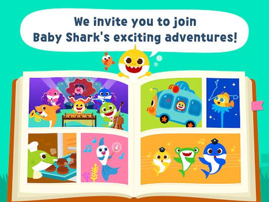 Image 15 of Pinkfong Baby Shark Storybook