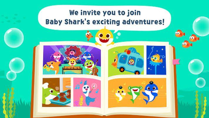 Image 2 of Pinkfong Baby Shark Storybook