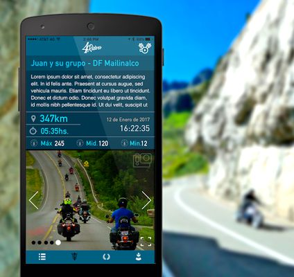 Image 1 of 4Riders: Motorcycles and Routes