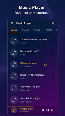 Picture of Music Player For Samsung
