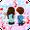 Tema Keyboard Young Couple Love
