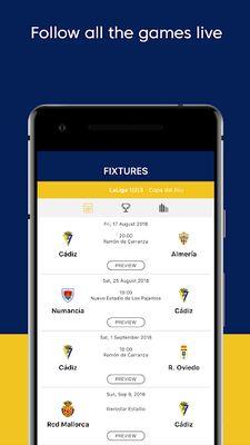 Image 3 of Cádiz CF - Official App