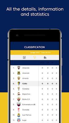 Image 2 of Cádiz CF - Official App