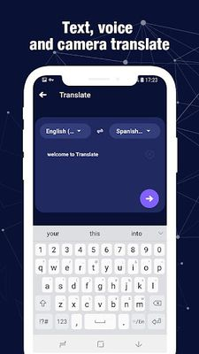 Image from Chao Translate - voice and picture translator