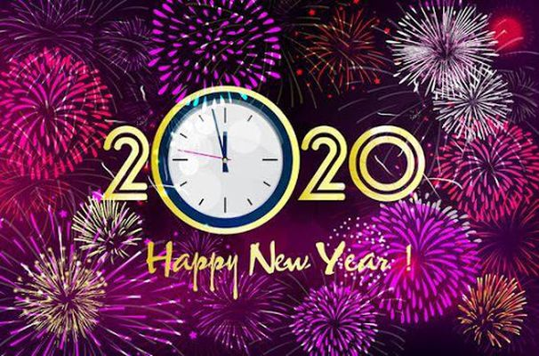 Image 4 of Happy New Year 2020 Images Gif
