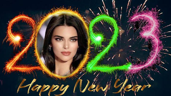 Image 8 of New Year Photo Frame 2020