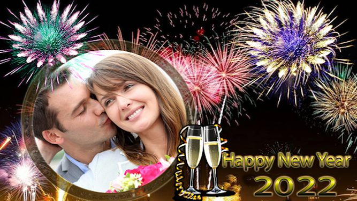 Image 7 of New Year Photo Frame 2020