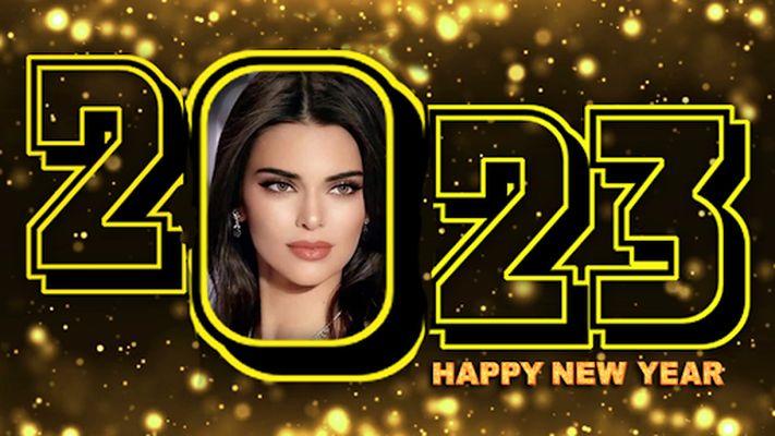 Image 5 of New Year Photo Frame 2020