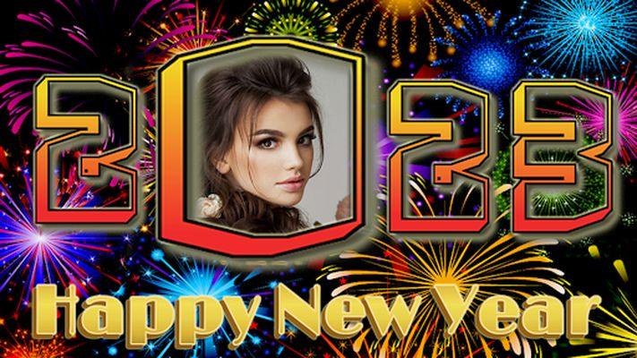 Image 4 of New Year Photo Frame 2020