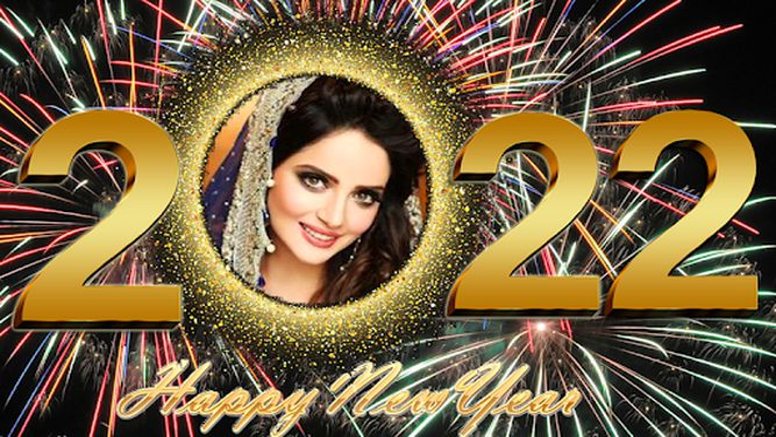 Image 3 of New Year Photo Frame 2020