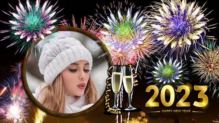 Image 2 of New Year Photo Frame 2020