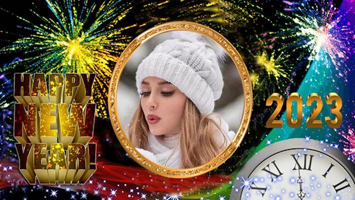 New Year Photo Frame 2020 Image
