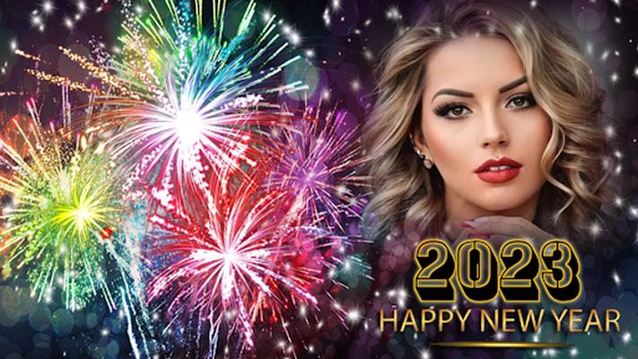 Image 15 of New Year Photo Frame 2020