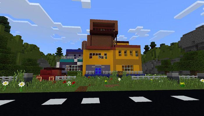 Maps Hello Neighbor for Minecraft screenshot apk 3