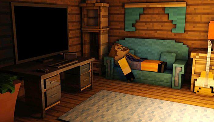 Maps Hello Neighbor for Minecraft screenshot apk 4