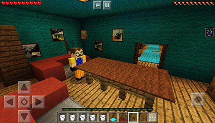 Maps Hello Neighbor for Minecraft screenshot apk 0