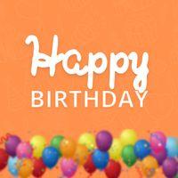 Ícone do Mensagem de Aniversário com Imagens de Parabéns