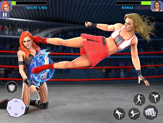Image 16 of Women Lucha Libre Rumble: Backyard Fighting