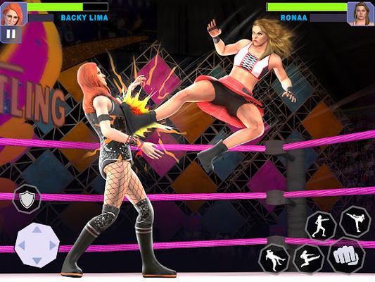 Image 17 of Women Lucha Libre Rumble: Backyard Fighting