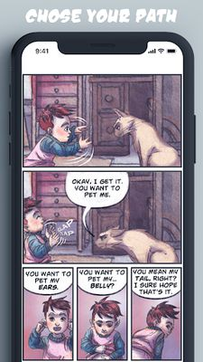 Image from Chatty Comics - Interactive Stories and Text Games