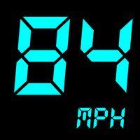 Иконка GPS спидометр : одометр, также скорость трекер