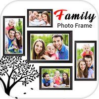 Ícone do quadro foto de família
