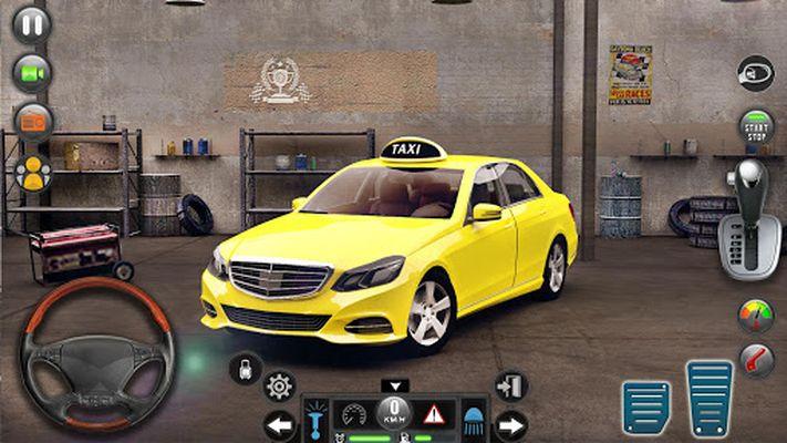 Image 3 of Taxi car simulation car games free games