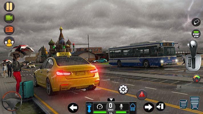 Image of Taxi car simulation car games free games