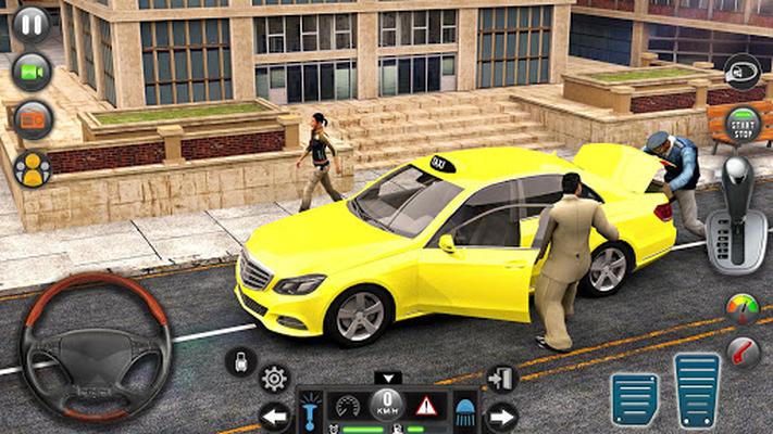 Image 12 of Taxi car simulation car games free games